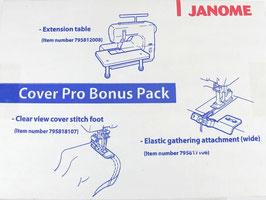 JANOME COVER PRO BONUS SET