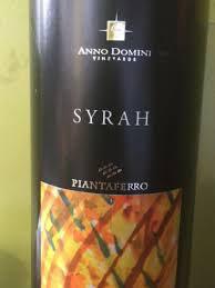 Syrah 2014 IGT Anno Domini