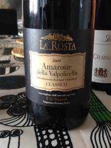 LA ROSTA Amarone della Valpolicella Classico 2011 Degani