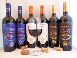 MIX doos ZENSA Italiaanse biologische wijnen