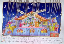 Francesco Musante - Bohème: Chi son? Sono un poeta cm 50x70