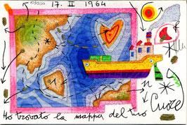Francesco Musante - Ho trovato la mappa del tuo cuore cm 10x15