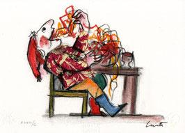 Emanuele Luzzati - Buon Appetito