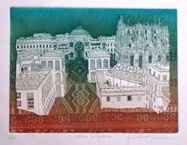 F. Tresoldi - Milano, Galleria cm 35x50