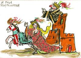 Emanuele Luzzati - La fuga della principessa