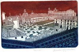 F. Tresoldi - Torino, piazza Castello cm 35x25