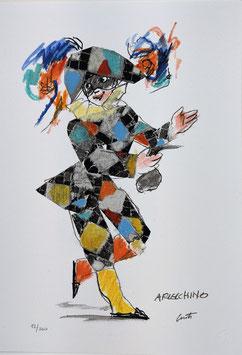Emanuele Luzzati - Arlecchino