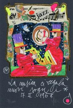 Francesco Musante - La musica ci regala nuovi sogni cm 10x15