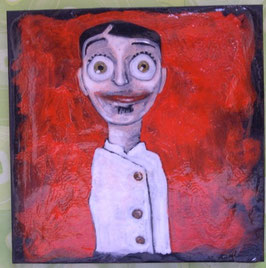 Angelo Barile - Cuoco - cm 10x10