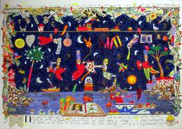 Francesco Musante - Notte magica cm 70x100