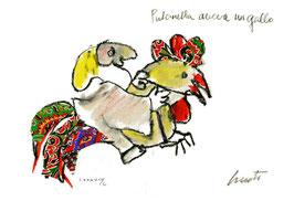 Emanuele Luzzati - Pulcinella aveva un gallo