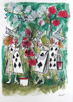 Emanuele Luzzati - Le rose della regina