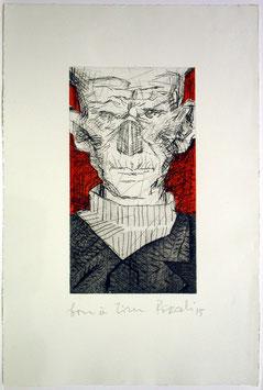 Tullio Pericoli - Samuel Beckett, 2015