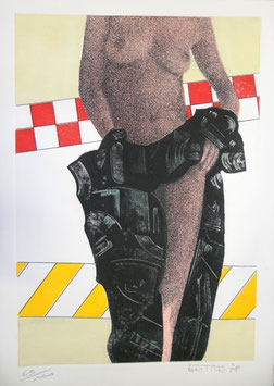 """Gianni Bertini """"Nudo"""" cm 50x70"""