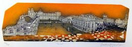F. Tresoldi - Torino, piazza Castello 36x69,5 cm