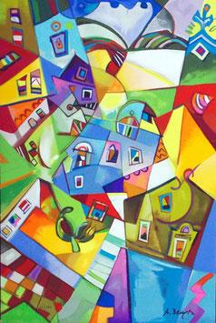 """Miljenko Bengez """"Luce del nord"""" cm 40x60"""