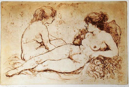 "Giuliana Pazienza ""Nudi"" cm 50x69,5"