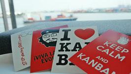 Kanban Postkartenserie - zurzeit leider vergriffen