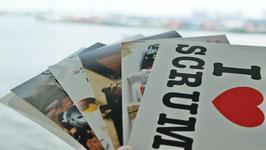 Scrum Postkartenserie