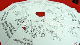 Leadersheep Postkartenserie (englisch)