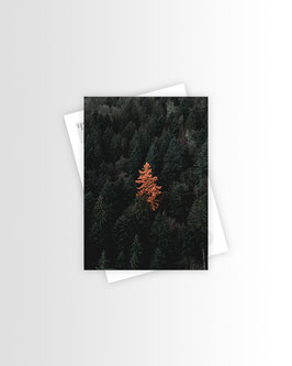 Be Unique | Postkarte