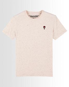 Gelato Tradizionale | Unisex Shirt | Creme-Gesprenkelt