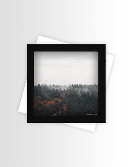 Fall² | Quadratische Postkarte
