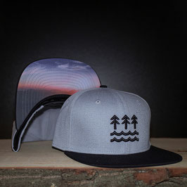 WAVES CAP | LIGHTGREY