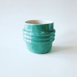 turquoise bubble cup