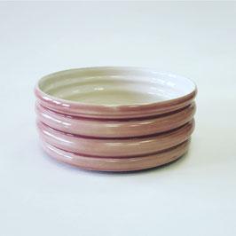 burgundy bubble bowl small
