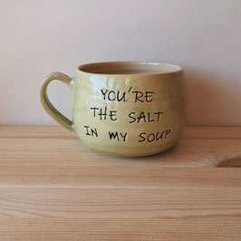 you're the salt in my soup (groen)