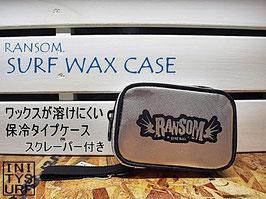 RANSOM 保冷タイプ ソフトワックスケース