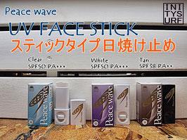 Peace wave UVフェイススティック 顔用固形日焼け止め 10g 3種