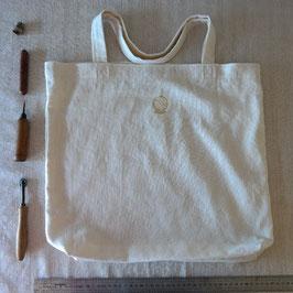 Tote bag grande taille L, 2 anses,44cm x 44cm TBL2x