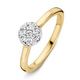 Ring geelgoud met briljant VS416145