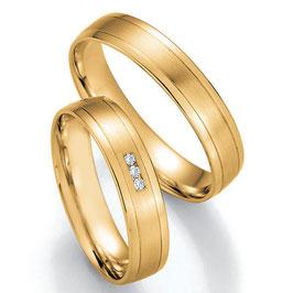 Ringen Geelgoud en Briljant CR-HPG4