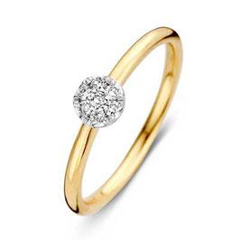 Ring geelgoud met briljant VS416518
