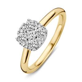 ProductnaamRing bicolor goud met briljant VS416086