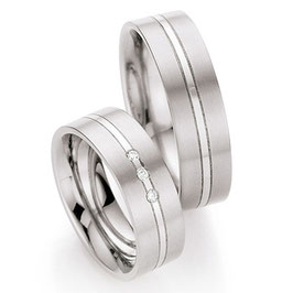 Ringen Titanium en Briljant CR-TI7
