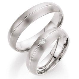 Ringen Titanium en Briljant CR-TI8