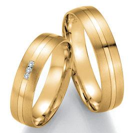 Ringen Geelgoud en Briljant CR-HPG2