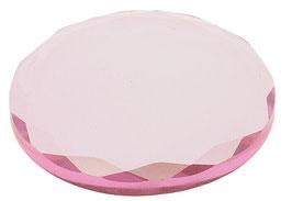 Wimpernkleber  Glasplatte Rosa