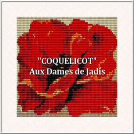 """""""Coquelicot"""" Pattern Tapis Loom"""