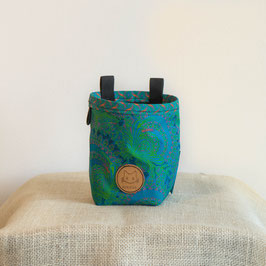 Chalkbag Turquoise Feathers