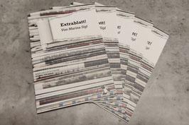 """""""Extrablatt!"""" von Marina Sigl (Einzeltextkarte)"""
