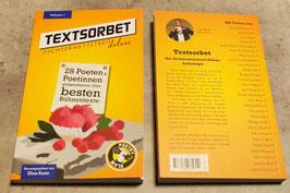 Textsorbet - Volume 1. Die Dichterwettstreit deluxe Anthologie