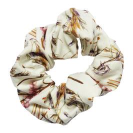 Scrunchie herfstbloemen