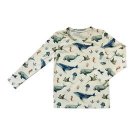 NIEUW - Shirt vissen lange mouw