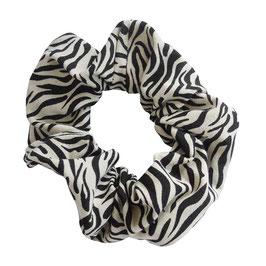 Scrunchie tijger zand