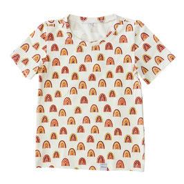 Shirt regenboog korte mouw